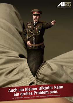 Münchner Aidshilfe kleiner Diktator