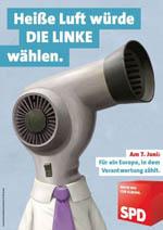 SPD Wahlplakat zur Europawahl 2009