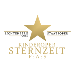 Logo der Kinderoper Sternzeit F:A:S