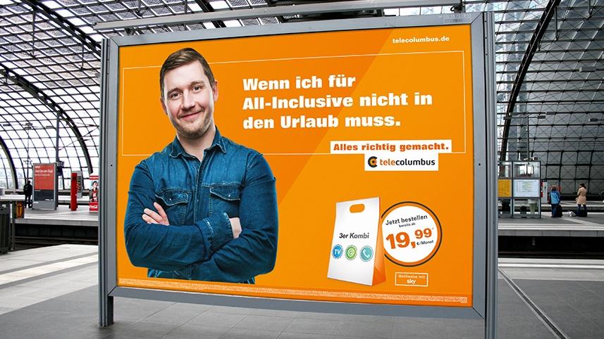 Tele Columbus Plakat - Design by kakoii Berlin
