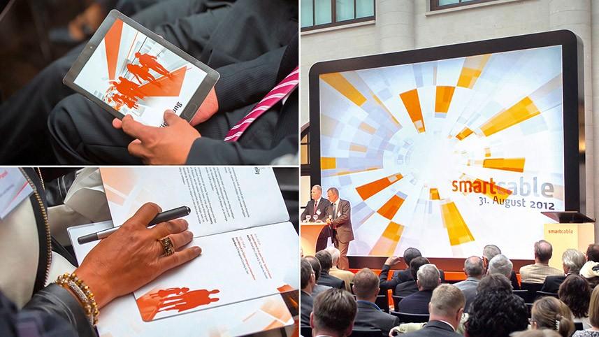 Kakoii Berlin Werbeagentur: Tele Columbus Full-Service Betreuung Presseevent