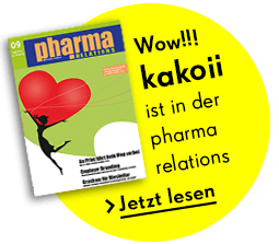 Kakoii ist in der pharma relations