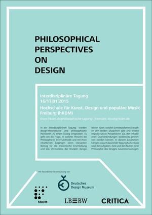 Philosophie des Designs?
