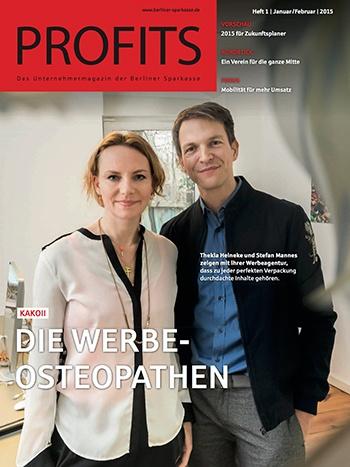 kakoii - die Werbeosteopathen Zeitschrift Profits