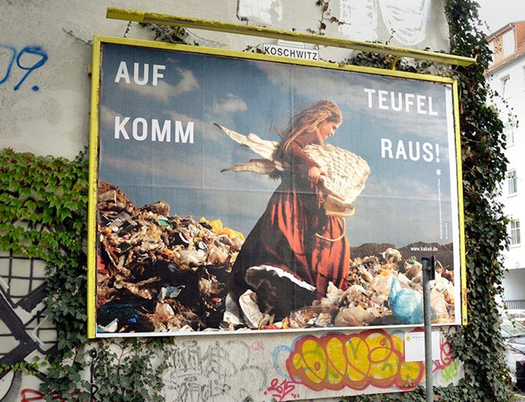 kakoii Public Art Space - Auf Teufel komm raus-Plakat