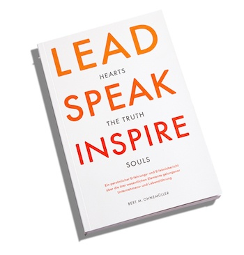 Buchcover Lead Speak Inspire