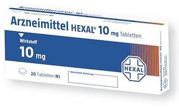 Neues Hexal Verpackungsdesign