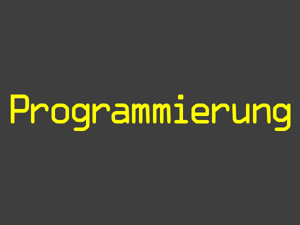 Praktikum Programmierung