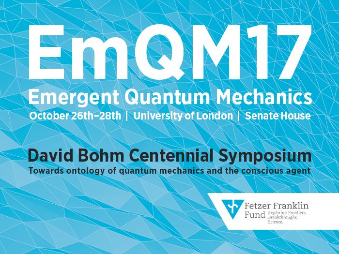 Emergent Quantum Mechanics 2017
