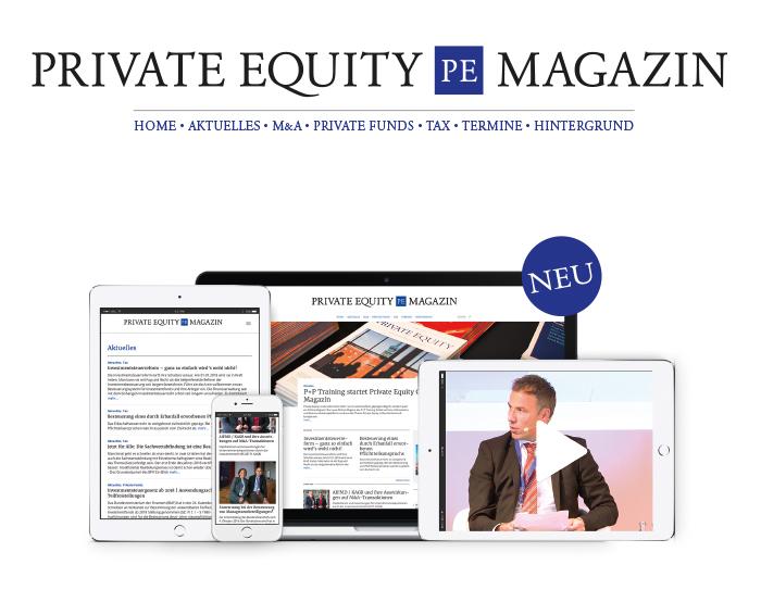 Launch Online-Magazin zum Thema Private Equity