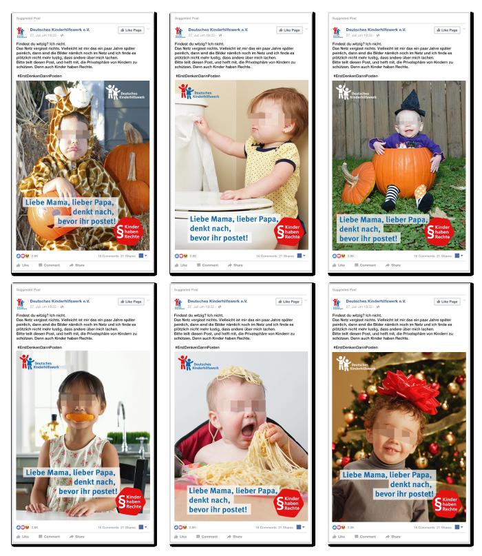 Kampagne Kinderbilder Facebook