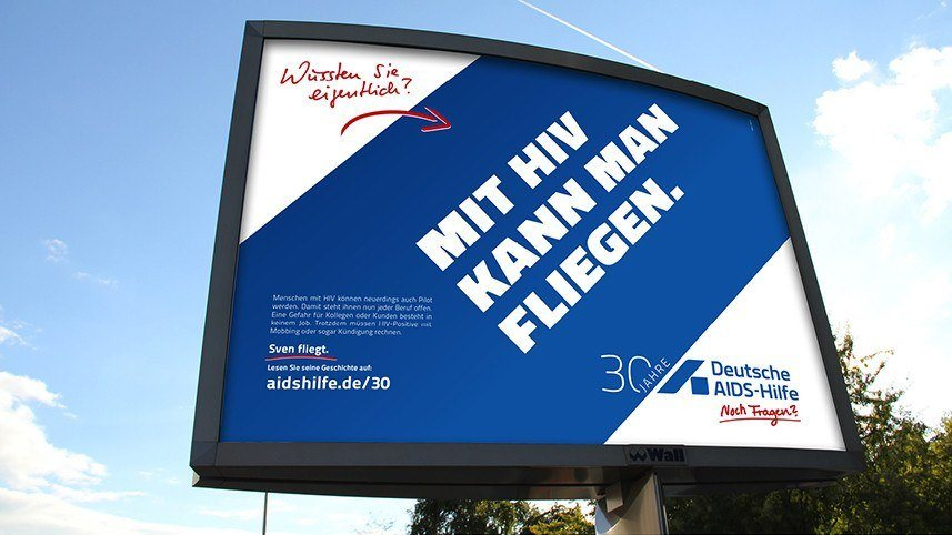 Kakoii Berlin Werbeagentur Deutsche AIDS-Hilfe. Plakat.
