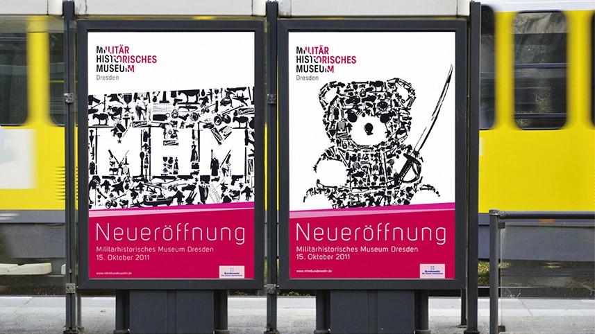 Kakoii Berlin Werbeagentur - MHM. Plakate.