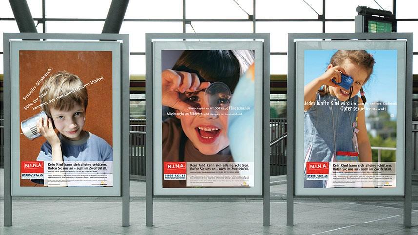 Kakoii Berlin Werbeagentur - N.I.N.A. Plakat.