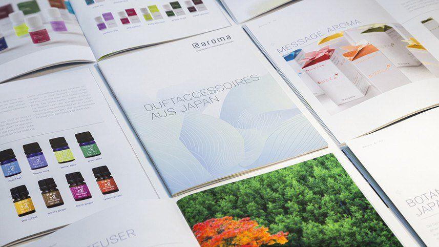 kakoii Berlin Werbeagentur @AROMA – DUFTMARKETING - Produktbroschüre.