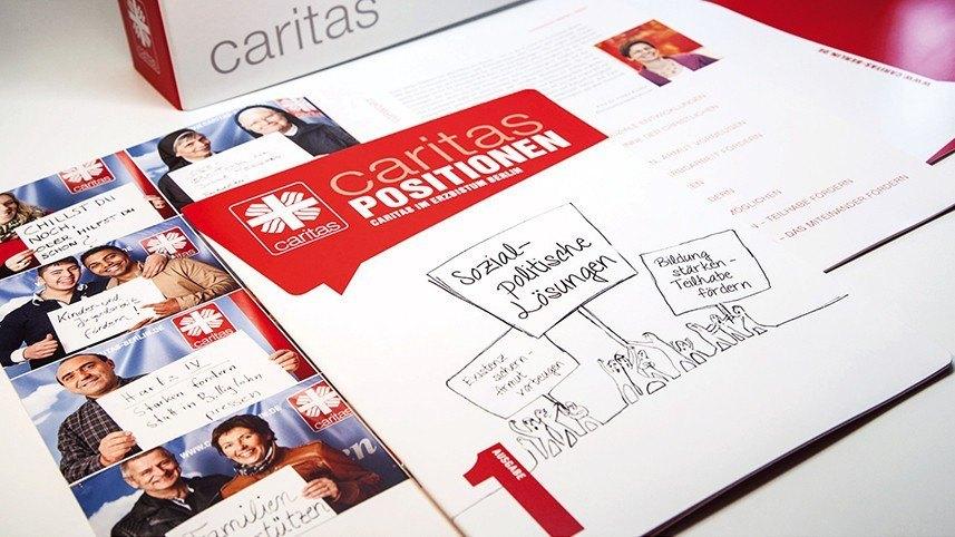 Werbeagentur Kakoii Berlin - Caritas. Positionen.