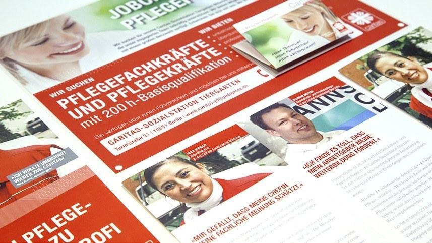 Werbeagentur Kakoii Berlin - Caritas. Infomaterial.