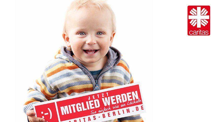 Kakoii Berlin Caritas. Full-Service-Kampagne.