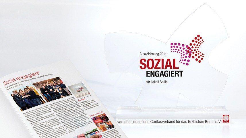 Werbeagentur Kakoii Berlin - Caritas. Sozial engagiert.