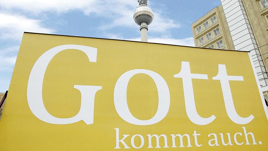 Kakoii Berlin Werbeagentur - Fest der Kirchen. Plakat.