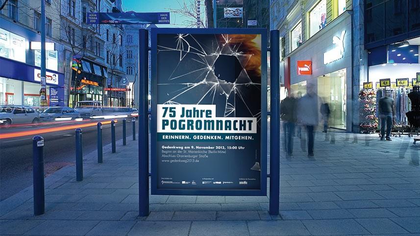 Kakoii Berlin Werbeagentur - Berliner Kirchen. Plakat.