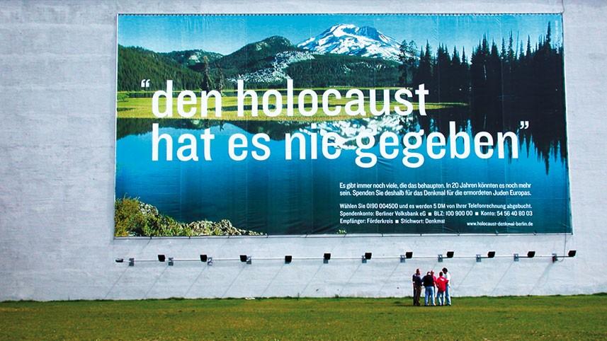 Kakoii Berlin Werbeagentur - Förderkreis Holocaust Denkmal. Kampagne.