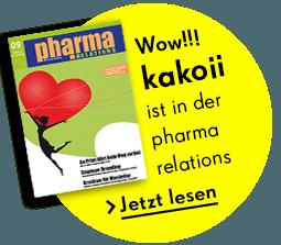 Kakoii ist in der pharma relations