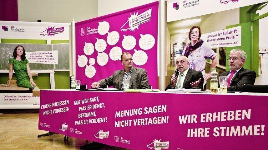 kakoii Berlin Werbeagentur - dbb - Pressekonferenz