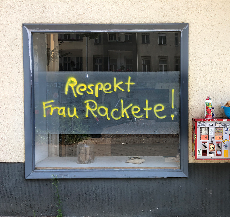 Respekt Frau Carola Rackete!